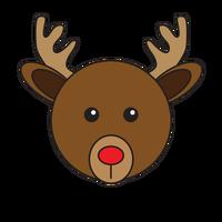 Link to animaru Red-nosed Reindeer
