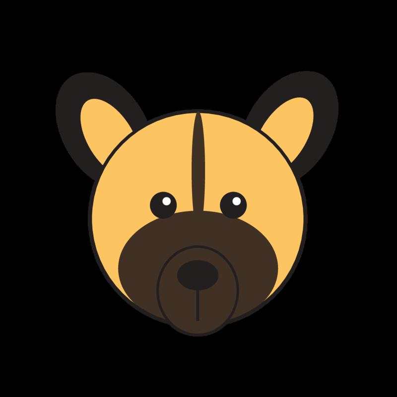 animaru African Wild Dog